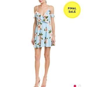 NWT J.O.A. Cold-Shoulder A-Line Dress